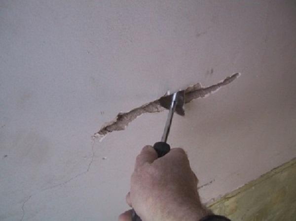 Расшивка трещин