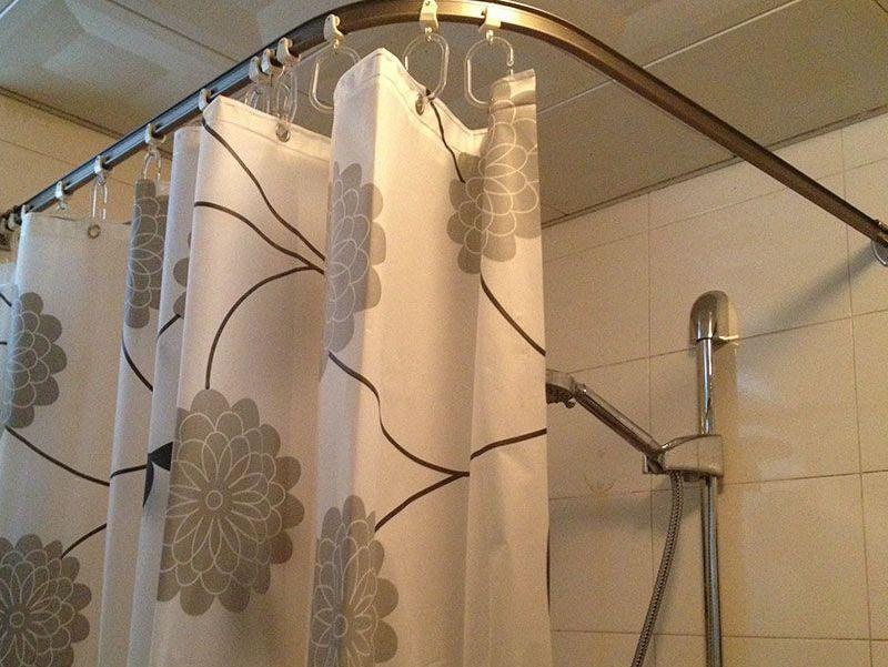 Угловая шторка для ванны