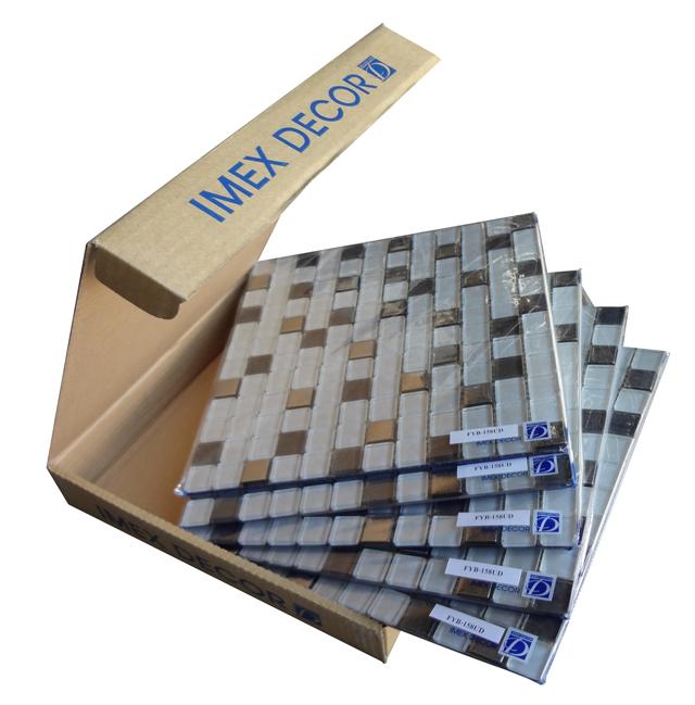 Хорошая мозаика упаковывается не только в коробку, но и в индивидуальную пленку