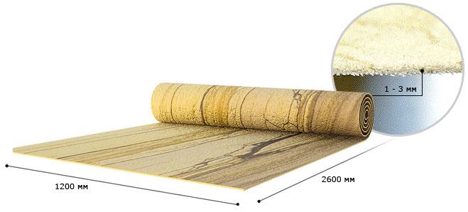 Материал не боится прямого попадания воды на поверхность, переносит резкие перепады температуры, не горюч