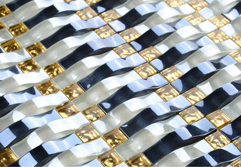 Рельефная плитка мозаичная