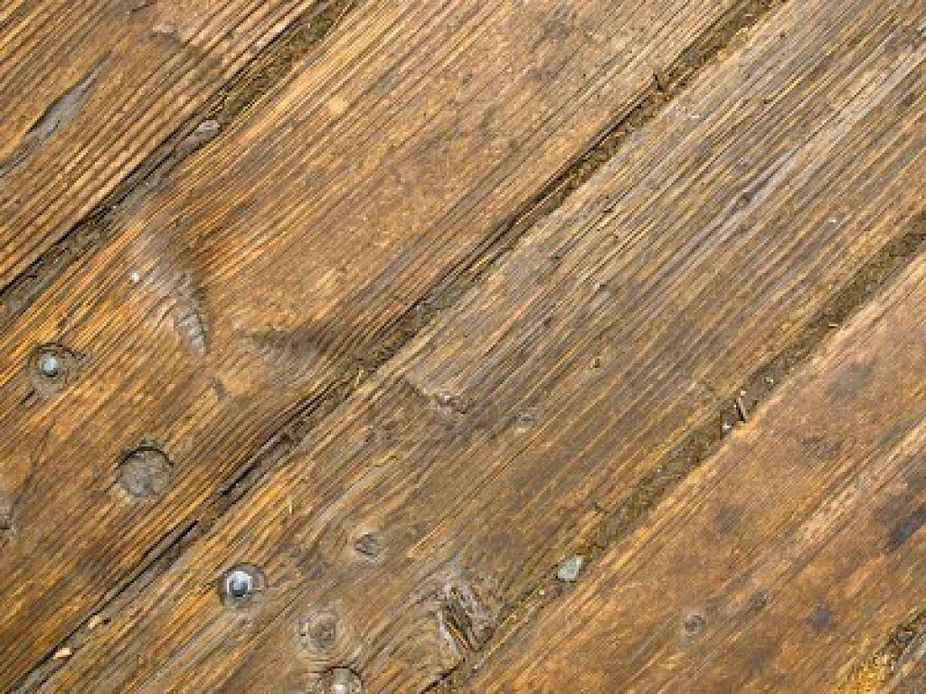 Деревянный пол как основа под плитку