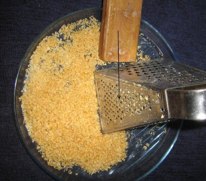 Мыльная стружка