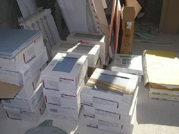 Определяем необходимое количество керамической плитки