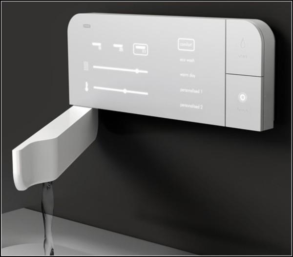 Сенсорный кран для ванной