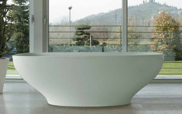 Ванны из керамики требуют особого ухода