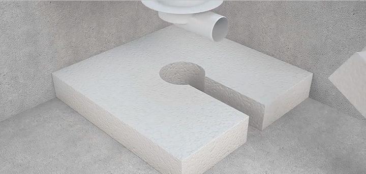 Дополнительная теплоизоляция бетонного основания