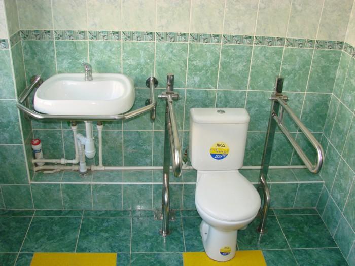 Поручни для ванной для инвалидов