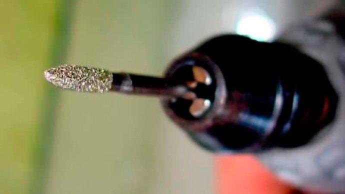 Сверло с алмазным напылением - фото