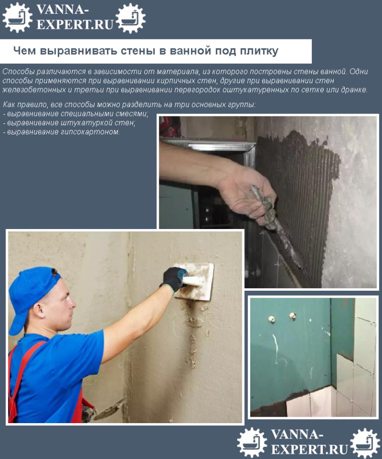 Как выровнять стены своими руками подробно 18