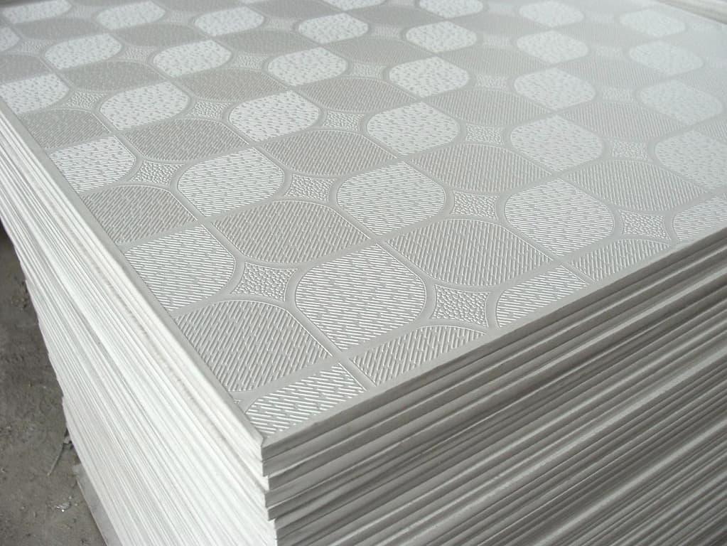 Фото пенополистирольной потолочной плитки
