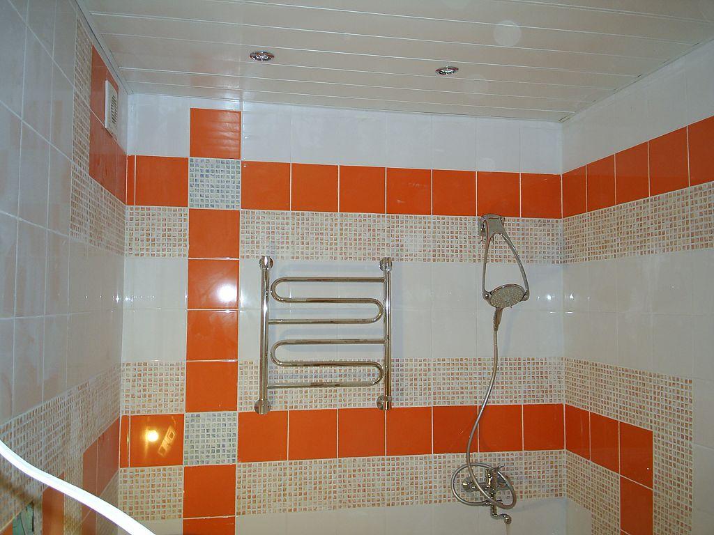 Ремонт потолок в ванной