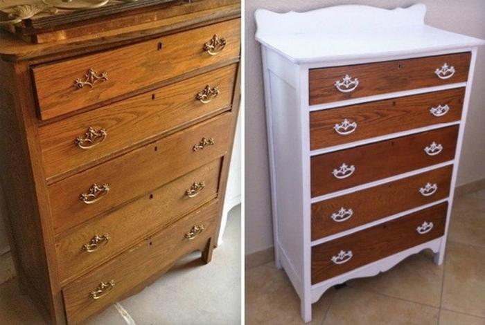 Пример отреставрированной мебели