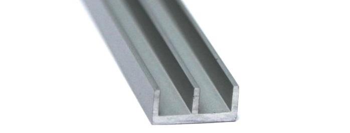 Алюминиевый профиль Ш-образный