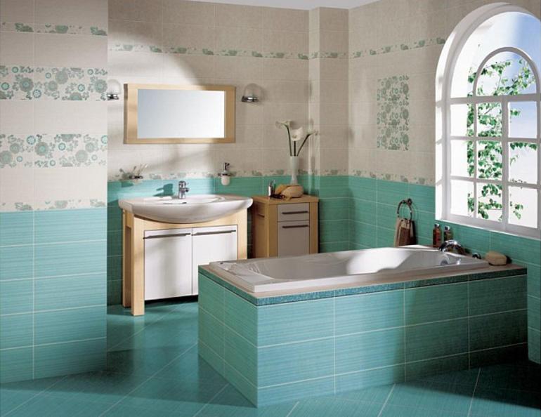 Отделка ванной комнатыи ванны кафельной плиткой