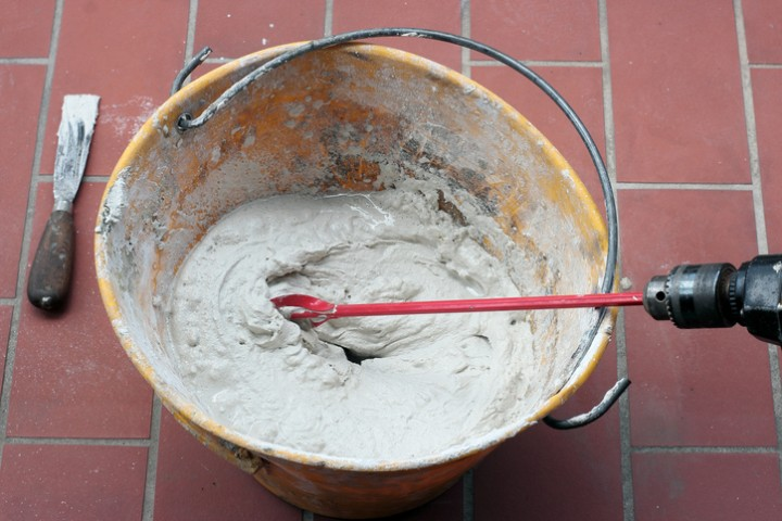 Процесс приготовления клея