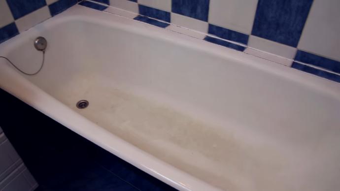 Отшлифуйте ванну
