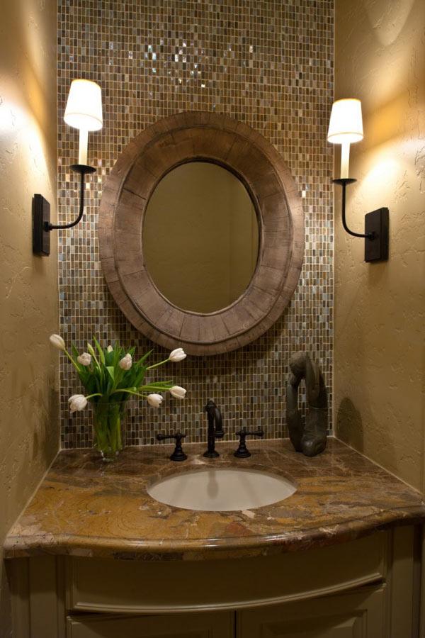Бра как элементы освещения зеркала и ванной комнаты