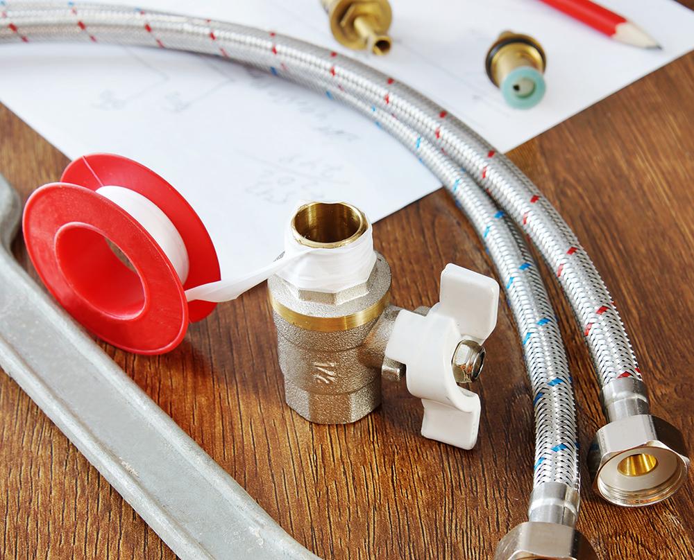 Катушка ленты ФУМ (фторопластового уплотнительного материала)
