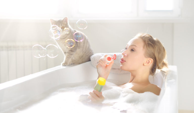 Смотреть порно нежное в ванной