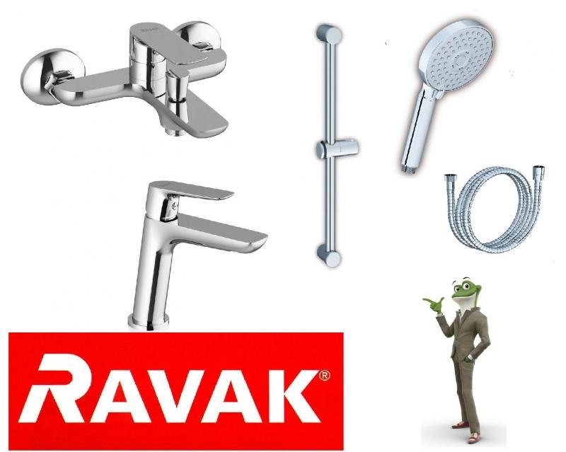 Набор смесителей для ванны 5в1 RAVAK CLASSIC