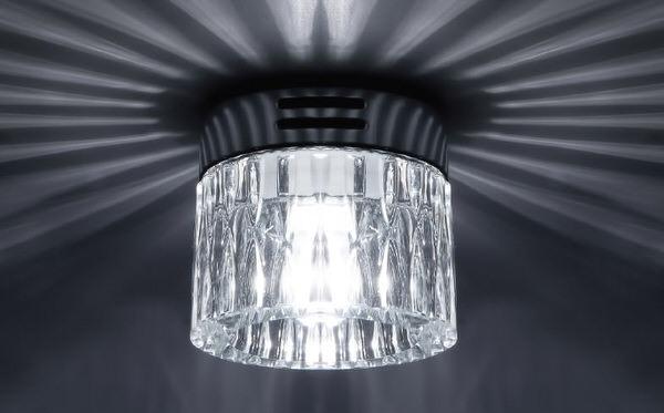 Пример накладного потолочного светильника