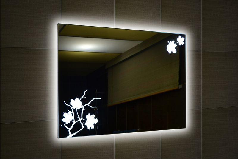 Пример освещения зеркала