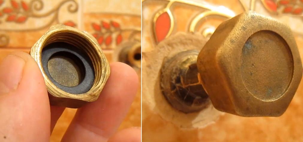 Проверить герметичность можно, накрутив на эксцентрики заглушки и включив центральный кран подачи воды