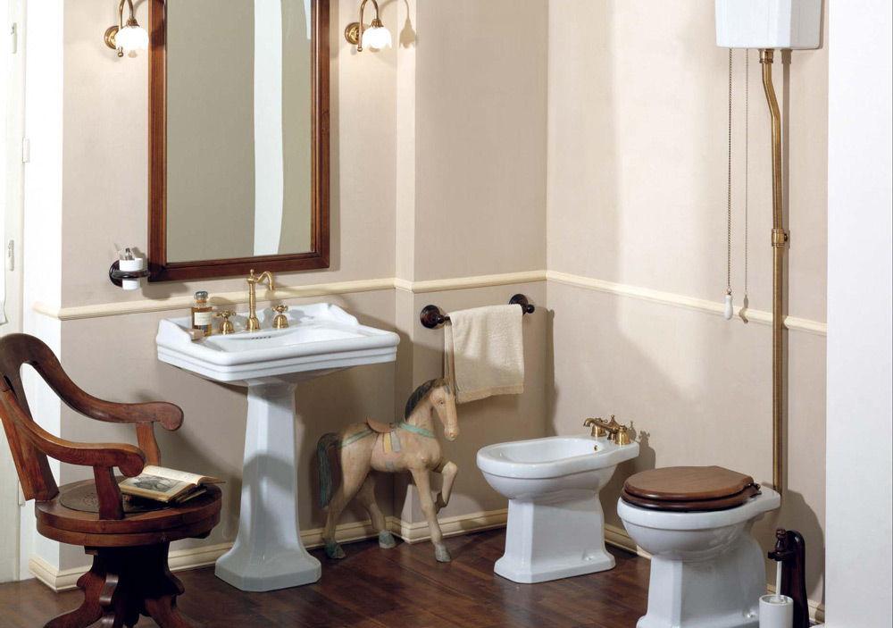 Раковина-тюльпан в ванную комнату