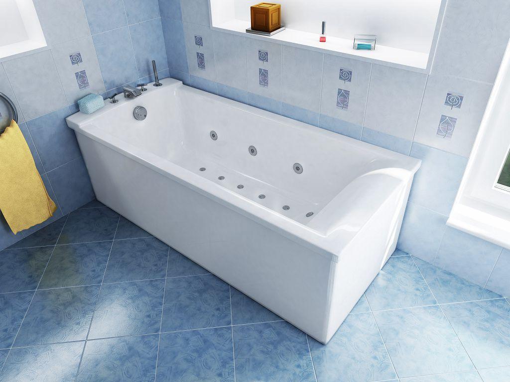 Самые популярные ванны - прямоугольные