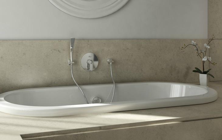 Смеситель для ванны встраиваемый