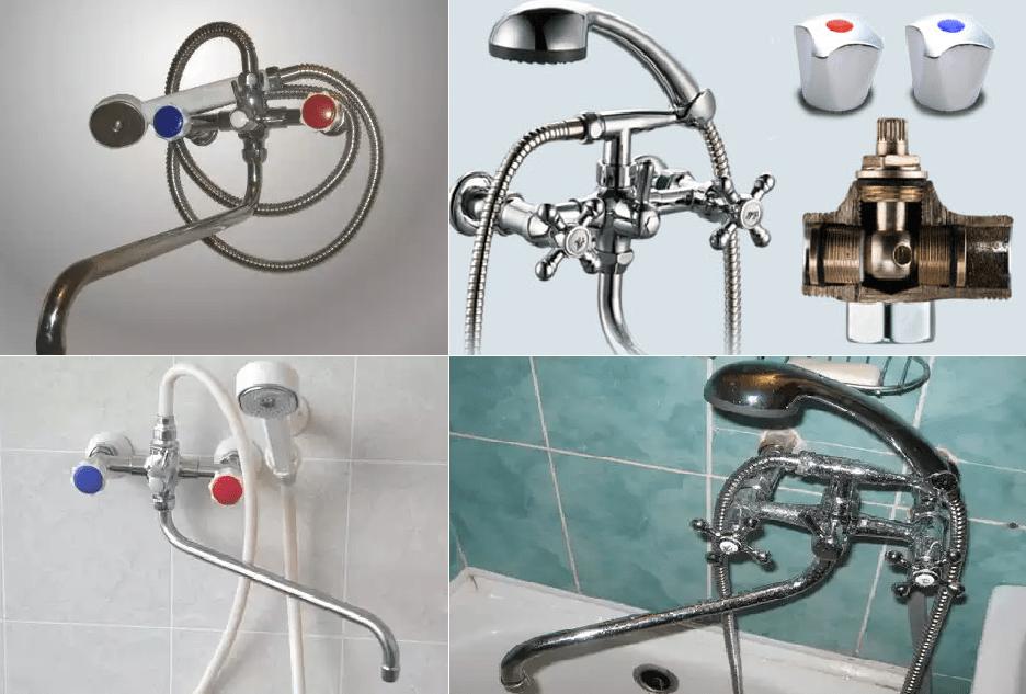 Смесители для ванны отечественного производства