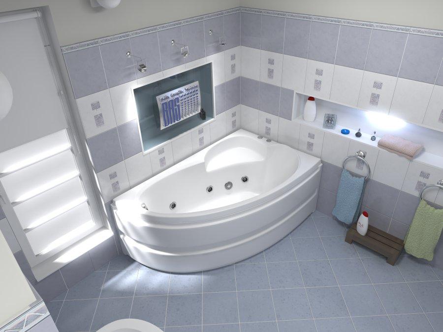 У акриловых ванн масса преимуществ