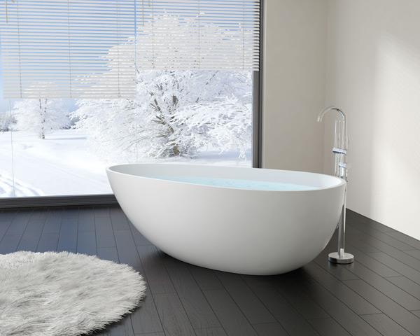 У ванн отдельностоящих высок риск отпрокидывания