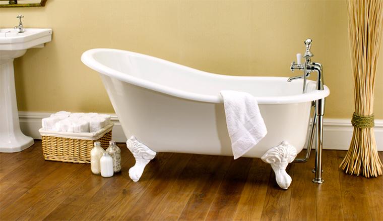 Ванночка на ножках в отдельности стоящая, напольный миксер
