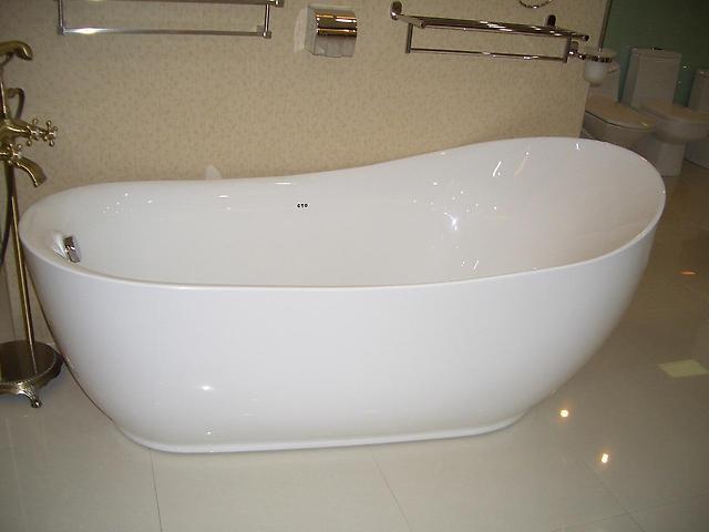 Ванночка отдельностоящая (акрил) пр-ва Ю. КНР