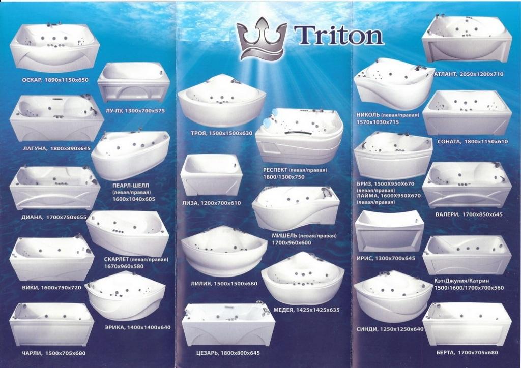 Ванны Тритон