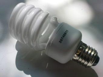 Витая энергосберегающая люминесцентная лампа
