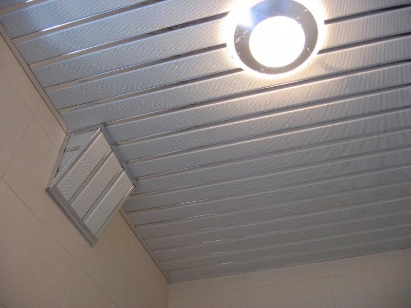 Встраиваемые потолочные светильники для ванной комнаты
