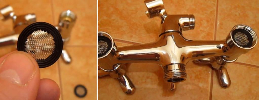 Установка душа смесителя в ванной своими руками