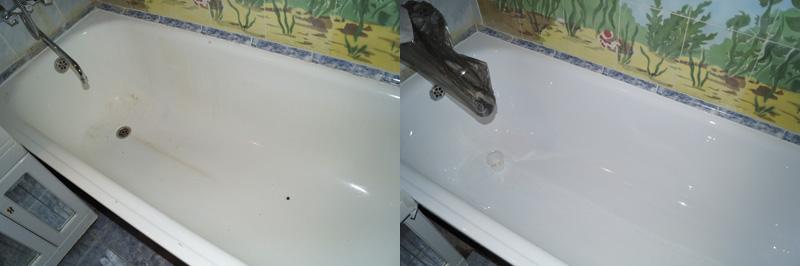 Метод получил название «Наливная ванна» благодаря особому способу нанесения