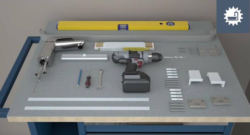 Нужно заранее подготовить инструменты
