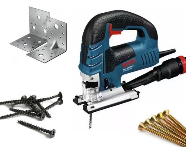 Инструменты для изготовления деревянного каркаса