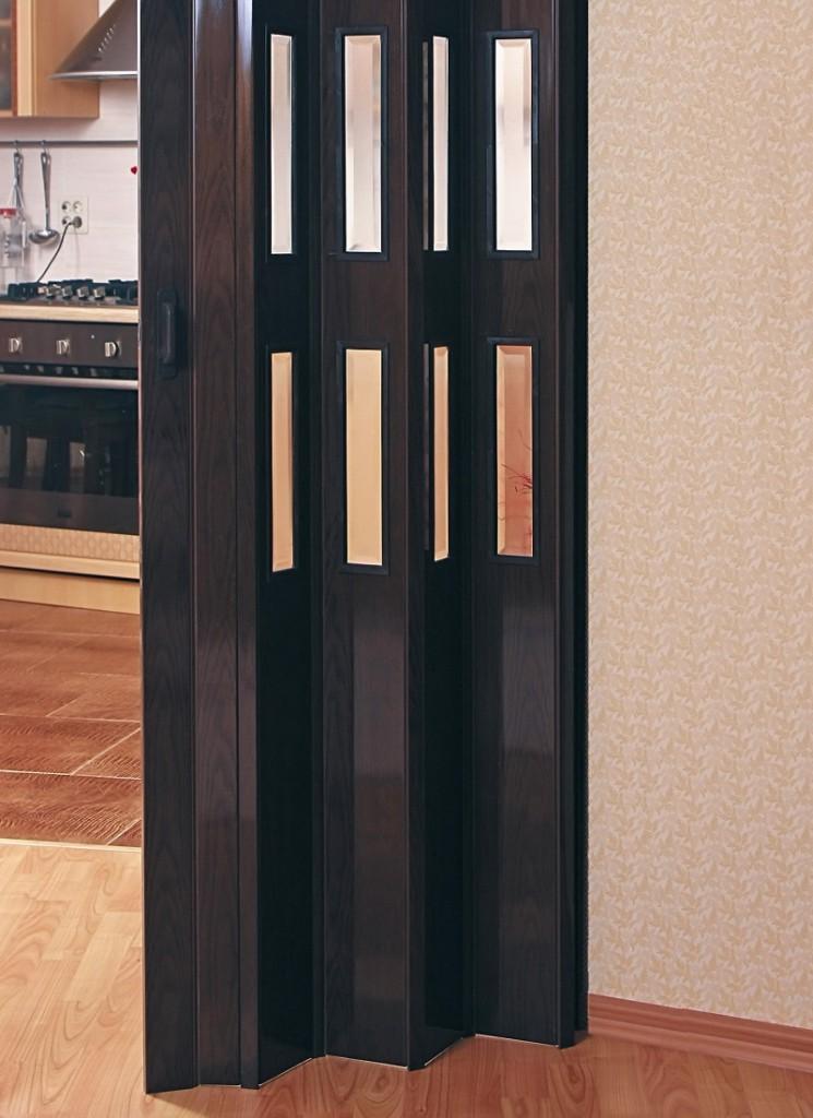 Складная модель пластиковой двери
