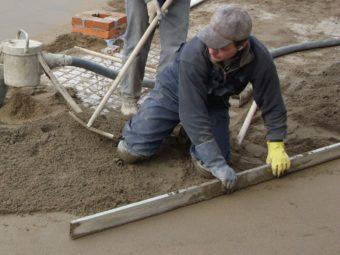 Сухая бетонная стяжка