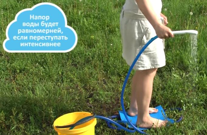 Можно регулировать напор воды