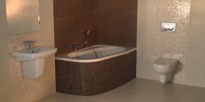 Облицовка ванной комнаты - фото