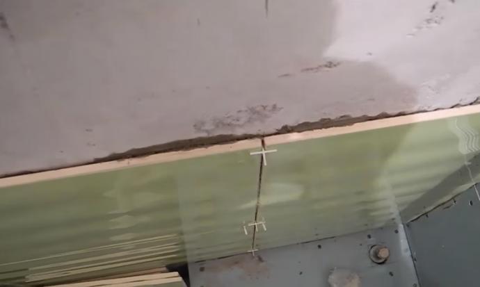 Ровные стыки плиток