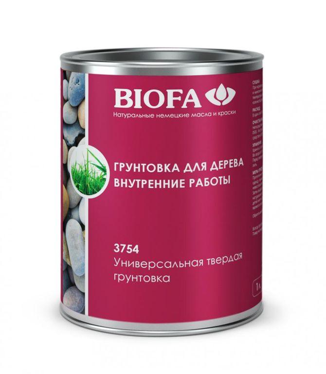Грунтовка для дерева для внутренних работ Biofa