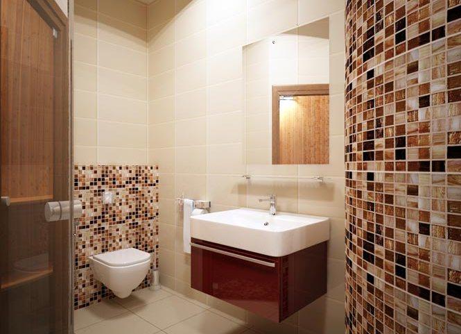 Керамическая плитка - классический материал для отделки полов в ванной комнате